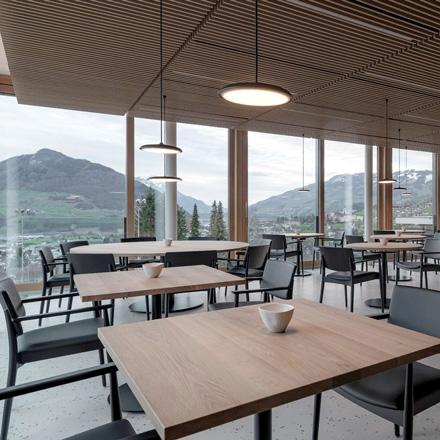 BZ Objektmoebel   Restaurant Magdalena   Rickenbach Schwyz