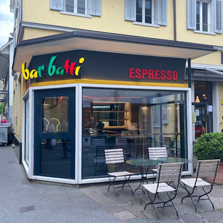 BZ Objektmoebel | Barbatti Espresso Bar | Luzern