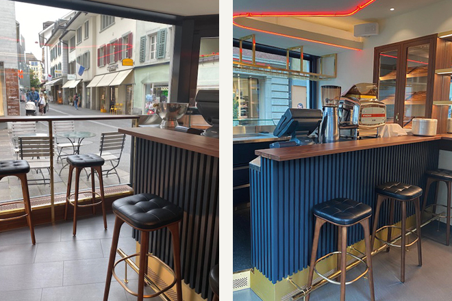 BZ Objektmoebel | Barbatti Espresso Bar | Luzern | Bild 1